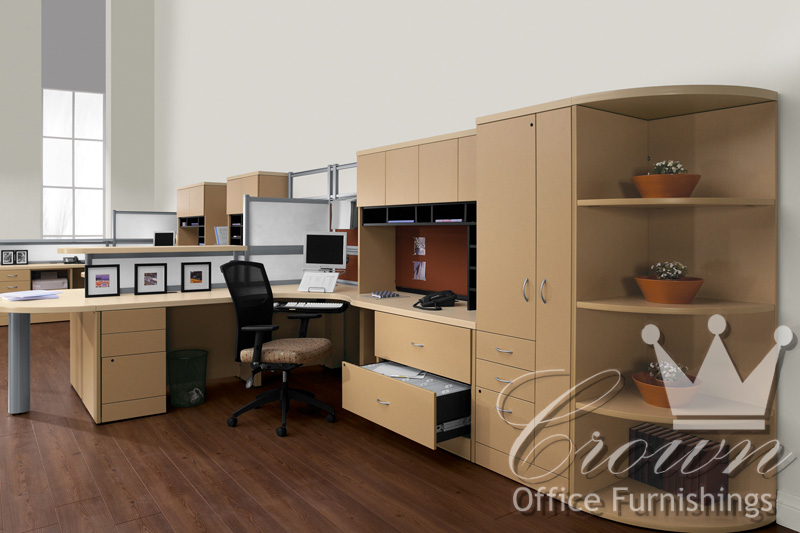 Correlation Crown Office Furniture Tulsa Oklahoma
