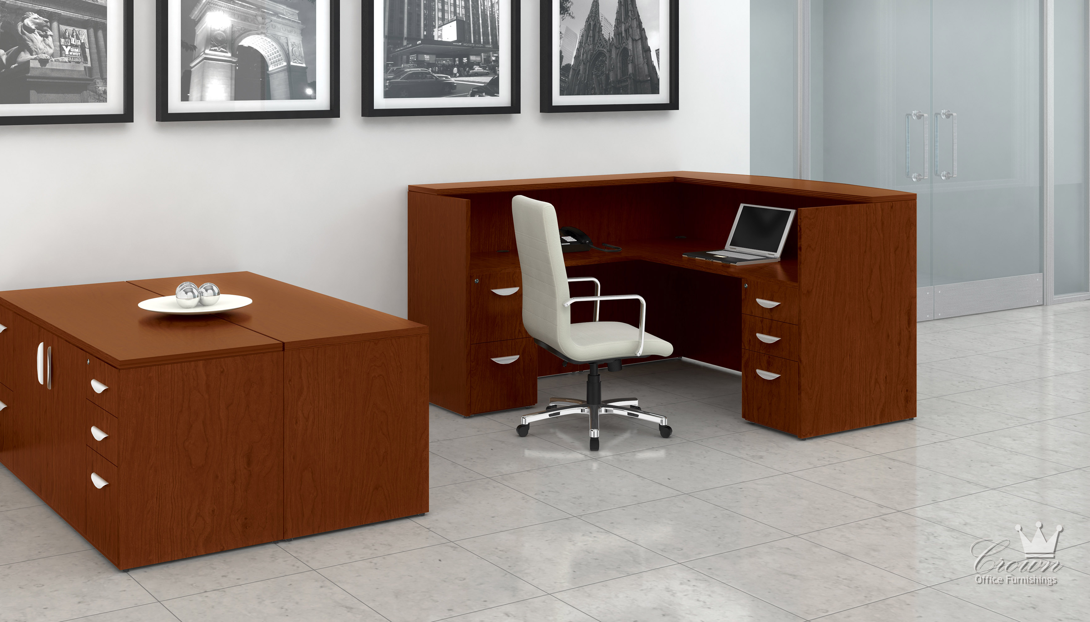Ventnor Crown Office Furniture Tulsa Oklahoma