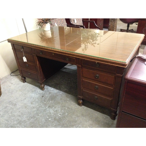 Pre Owned Antique Leopold Desk