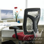 Empty Office Chair and Desk --- Image by © Royalty-Free/Corbis