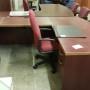 Bow Front U' Desk